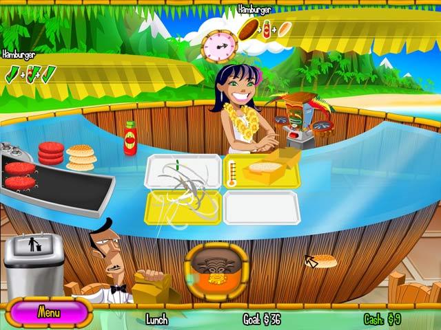 Burger Island Big Fish Games